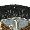 show larger image of product view 5 : Original U.S. WWII British Made 1st Allied Airborne Patch Pair - Bullion and Cloth Original Items