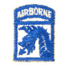 show larger image of product view 9 : Original U.S. WWII XVIII Airborne Corps Paratrooper Insignia Collection - 17th Airborne Division Original Items