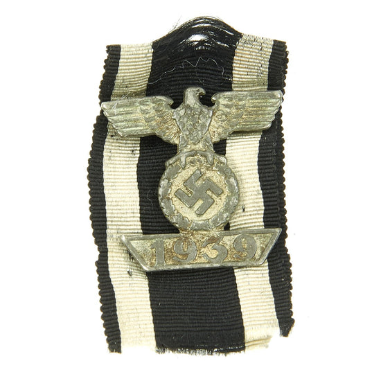 Original German WWII Clasp to the Iron Cross Second Class 1939 by Wilhelm Deumer - Spange zum Eisernen Kreuz