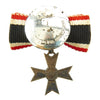 show larger image of product view 2 : Original German WWII Knight's Cross of the War Merit Cross KvK Button Pin by Steinhauer & Lück Original Items