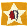 show larger image of product view 1 : Original U.S. WWI USMC 2nd Battalion 5th Marines Uniform Insignia Patch - 2nd Infantry Division Original Items