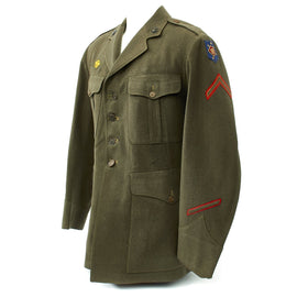 Original U.S. WWII USMC Marine Raider Tunic with Australian Made Patch