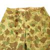 show larger image of product view 3 : Original U.S. WWII Named USMC P42 Reversible Camouflage HBT Trousers Original Items