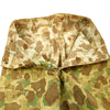 show larger image of product view 4 : Original U.S. WWII Named USMC P42 Reversible Camouflage HBT Trousers Original Items