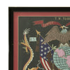 show larger image of product view 3 : Original U.S. China Marine Named Framed Silk Embroidered Remembrance Scroll - Tobin Original Items