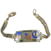 show larger image of product view 3 : Original U.S. WWII China Burma India Silver Enamel Bracelet Collection Original Items