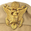 show larger image of product view 3 : Original U.S. WWII USAAF Officer Summer Khaki Crush Cap by Imperial - Size 7 1/4 Original Items