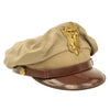 show larger image of product view 2 : Original U.S. WWII USAAF Officer Summer Khaki Crush Cap by Imperial - Size 7 1/4 Original Items