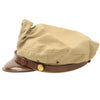 show larger image of product view 8 : Original U.S. WWII USAAF Officer Summer Khaki Crush Cap by Imperial - Size 7 1/4 Original Items