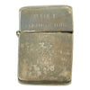show larger image of product view 1 : Original U.S. WWII Named China Marine Silver Lighter - Peking 1946 Original Items