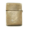 show larger image of product view 2 : Original U.S. WWII Named China Marine Silver Lighter - Peking 1946 Original Items