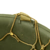 show larger image of product view 8 : Original U.S. WWII M1 McCord Fixed Bale Front Seam Helmet with Net and MSA Liner Original Items