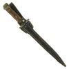show larger image of product view 3 : Original Dutch WWI M1895 Mannlicher Carbine No.1 New Model Dagger Bayonet with Scabbard Original Items