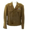 show larger image of product view 3 : Original U.S. WWII 555th Parachute Infantry Battalion Triple Nickels Ike Jacket Original Items