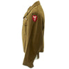 show larger image of product view 4 : Original U.S. WWII 555th Parachute Infantry Battalion Triple Nickels Ike Jacket Original Items
