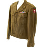show larger image of product view 1 : Original U.S. WWII 555th Parachute Infantry Battalion Triple Nickels Ike Jacket Original Items