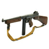 show larger image of product view 6 : Original U.S. WWII Thompson M1A1 Display Submachine Gun with Steel Display Receiver - Serial 192439 Original Items