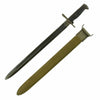"show larger image of product view 2 : Original U.S. WWI & WWII M1905 Springfield 16"" Rifle Bayonet marked S.A. with WWII M3 Scabbard - dated 1918 Original Items"