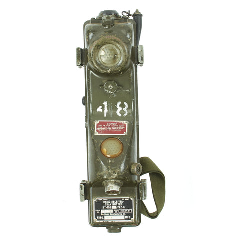 Original U.S. Vietnam War RT-196/PRC-6 Radio Receiver Transmitter Walkie Talkie by Ratheon