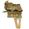 show larger image of product view 10 : Original German WWII MP 38 u.40 Magazine Pouch Dated 1943 with Magazine and Loader