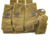 show larger image of product view 11 : Original German WWII MP 38 u.40 Magazine Pouch Dated 1943 with Magazine and Loader
