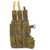 show larger image of product view 12 : Original German WWII MP 38 u.40 Magazine Pouch Dated 1943 with Magazine and Loader