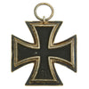 show larger image of product view 6 : Original German WWII Iron Cross 2nd Class 1939 by Hanau Plaque Association with Ribbon in Case Original Items