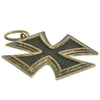 show larger image of product view 7 : Original German WWII Iron Cross 2nd Class 1939 by Hanau Plaque Association with Ribbon in Case Original Items