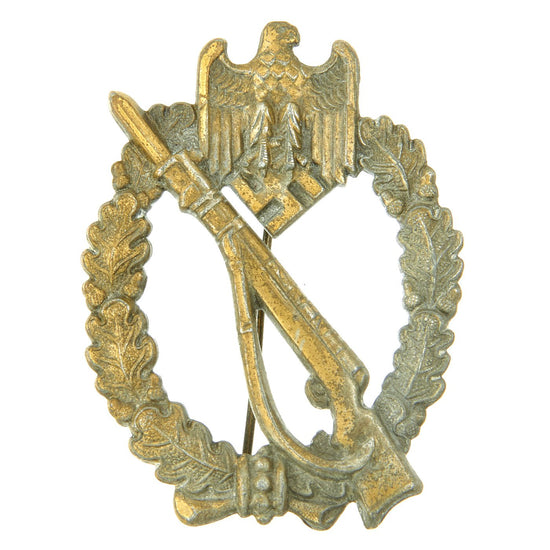 Original German WWII Bronze Grade Infantry Assault Badge