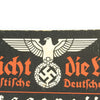 show larger image of product view 3 : Original German WWII Sign der NSDAP Public Announcement Board - Emailleschild Original Items