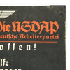 show larger image of product view 8 : Original German WWII Sign der NSDAP Public Announcement Board - Emailleschild Original Items