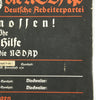show larger image of product view 9 : Original German WWII Sign der NSDAP Public Announcement Board - Emailleschild Original Items