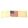 show larger image of product view 10 : Original U.S. WWII Invasion Armband Brassard 48 Star American Flag Original Items