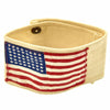 show larger image of product view 6 : Original U.S. WWII Invasion Armband Brassard 48 Star American Flag Original Items