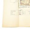 show larger image of product view 3 : Original U.S. & British WWII Allied Color Maps of Italy, Germany, Poland, Scottland, & Surroundings - Set of 4 Original Items