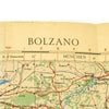 show larger image of product view 41 : Original U.S. & British WWII Allied Color Maps of Italy, Germany, Poland, Scottland, & Surroundings - Set of 4 Original Items