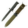show larger image of product view 1 : Original U.S. Vietnam War Era Garand Rifle M5A1 Bayonet by Milpar with German-made M8A1 Scabbard Original Items