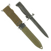 show larger image of product view 2 : Original U.S. Vietnam War Era Garand Rifle M5A1 Bayonet by Milpar with German-made M8A1 Scabbard Original Items