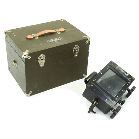 Original WWII U.S. Army Air Corps Type A-1 Astrograph with Star Charts and Manual in Transit Chest  - dated 1942 Original Items