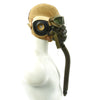 show larger image of product view 4 : Original U.S. WWII Army Air Force Aviator Flight Helmet Set - AN6530 Goggles, A-14 Mask, AN-H-15 Helmet Original Items