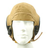 show larger image of product view 9 : Original U.S. WWII Army Air Force Aviator Flight Helmet Set - AN6530 Goggles, A-14 Mask, AN-H-15 Helmet Original Items