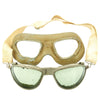 show larger image of product view 19 : Original U.S. WWII Army Air Force Aviator Flight Helmet Set - AN6530 Goggles, A-14 Mask, AN-H-15 Helmet Original Items