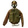 show larger image of product view 2 : Original U.S. WWII USAAF Pilot Flight Uniform Set Original Items