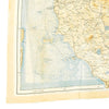 show larger image of product view 5 : Original U.S. WWII 1943 Color Silk Double Side Escape Map 43/E & 43/F - Central Europe & Balkans Original Items