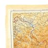 show larger image of product view 7 : Original U.S. WWII 1943 Color Silk Double Side Escape Map 43/E & 43/F - Central Europe & Balkans Original Items