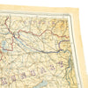 show larger image of product view 8 : Original U.S. WWII 1943 Color Silk Double Side Escape Map 43/E & 43/F - Central Europe & Balkans Original Items