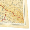 show larger image of product view 11 : Original U.S. WWII 1943 Color Silk Double Side Escape Map 43/E & 43/F - Central Europe & Balkans Original Items