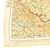 show larger image of product view 12 : Original U.S. WWII 1943 Color Silk Double Side Escape Map 43/E & 43/F - Central Europe & Balkans Original Items