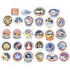 show larger image of product view 1 : Original U.S. NASA Space Shuttle Challenger Disaster and Columbia Mission Patches - Set of 28 Original Items