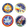 show larger image of product view 4 : Original U.S. NASA Space Shuttle Challenger Disaster and Columbia Mission Patches - Set of 28 Original Items